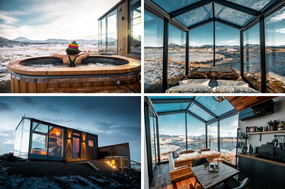 Panorama Glass Lodge - IJsland